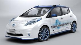 Autonomiczny Nissan Leaf trafi na ulice Londynu