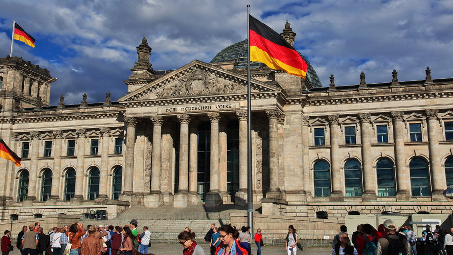 Budynek Parlamentu w Berlinie