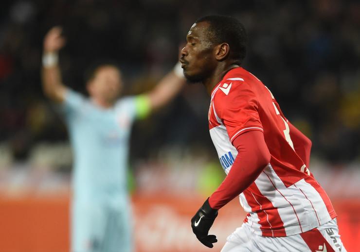 El Fardu Ben slavi gol protiv Vojvodine