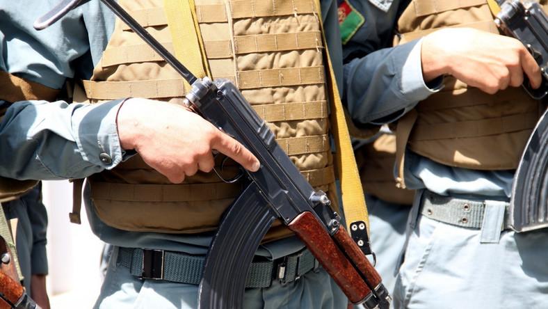 Afgańscy policjanci