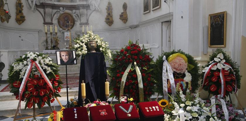 Pogrzeb Wandy Chotomskiej. Poruszające słowa księdza