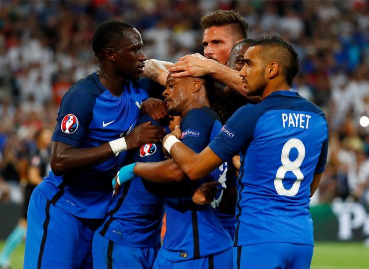 Fudbalska reprezentacija Nemačke, Fudbalska reprezentacija Francuske