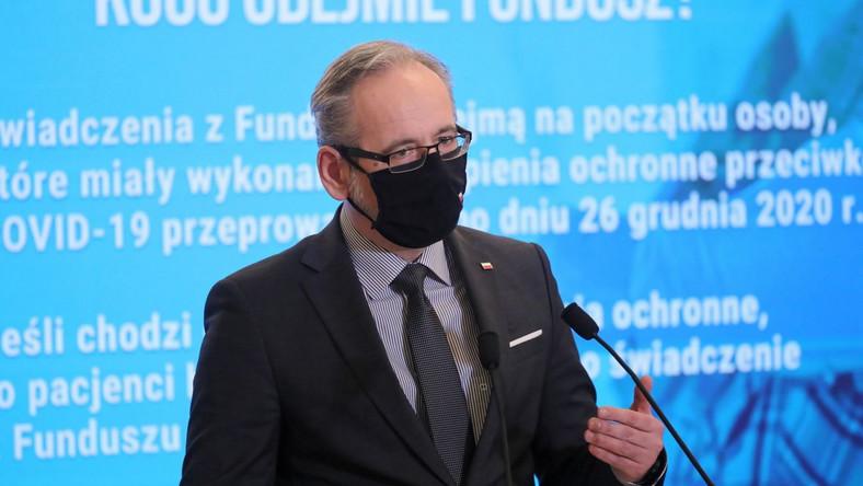 Adam Niedzielski PAP/Paweł Supernak