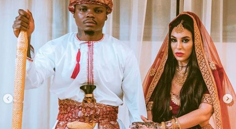 We are expecting a baby soon - Harmonize as he announces wife Sarah is expectant