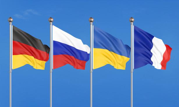 Czwórka normandzka. Ukraina. Francja. Niemcy. Rosja