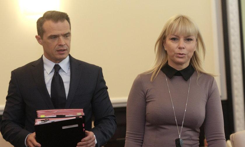 Sławomir Nowak i Elżbieta Bieńkowska