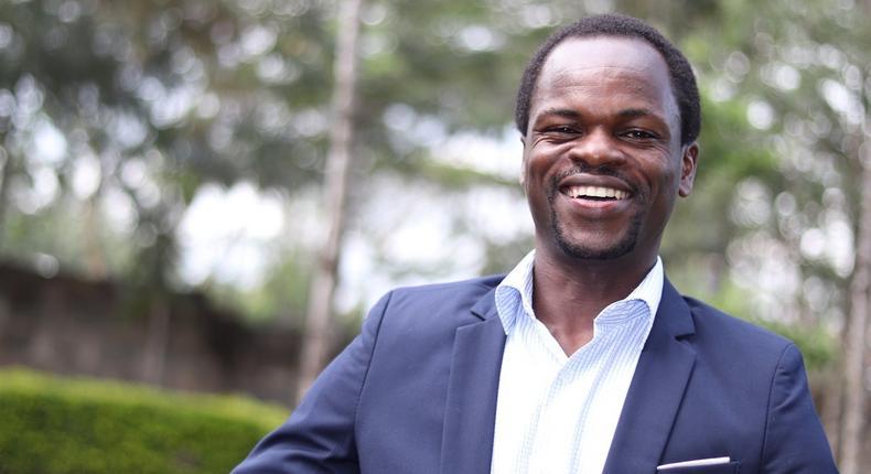 Mr John Oroko, the co-founder of Selina Wamucii.