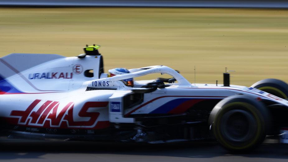 Mick Schumacher w bolidzie Haasa