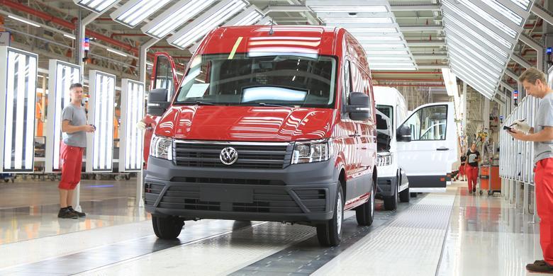 Fabryka we Wrześni – jak produkuje się Volkswagena Craftera