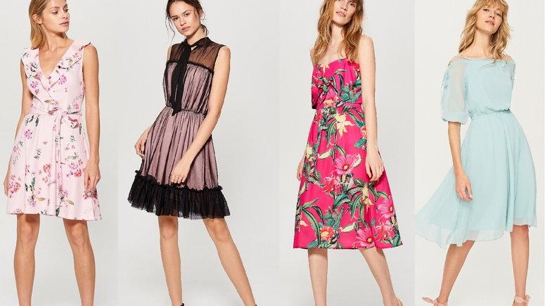 ac75678c36 Letnie sukienki z wyprzedaży z popularnych sklepów - Moda