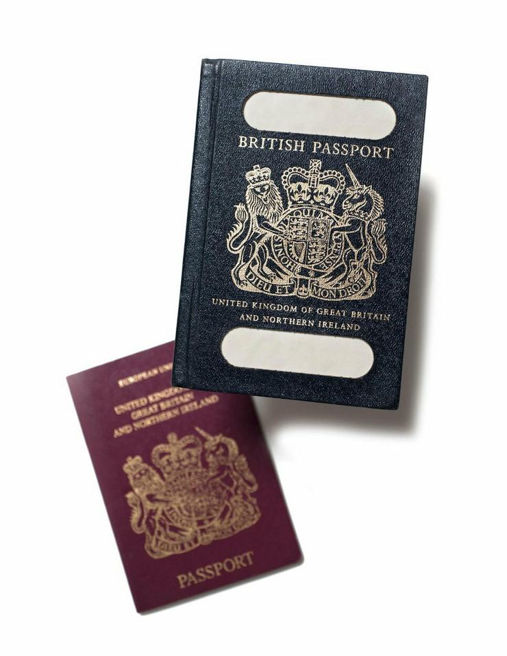 britanski pasoš