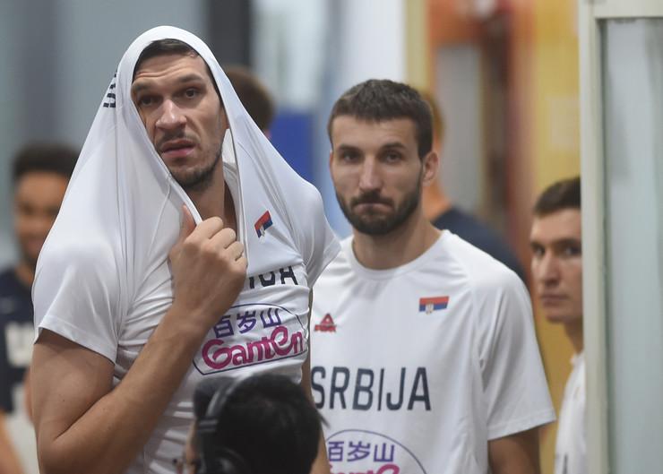 Košarkaška reprezentacija Srbije pred meč sa SAD