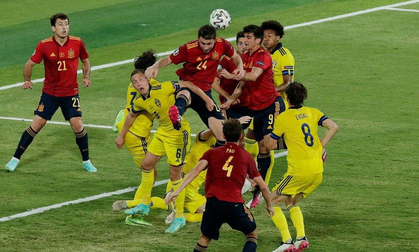 Hiszpanie zremisowali ze Szwecją i Polską, teraz drżą, że po planowanej wygranej ze Słowacją przyjdzie im zagrać z Anglią