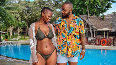 Corazon Kwamboka's reaction after her Bikini photo sparked mixed reactions on Instagram