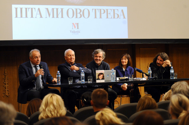 Milo Lompar, Manojlo Vukotić, Emir Kusturica, Ljiljana Smajlović i Muharem Bazdulj