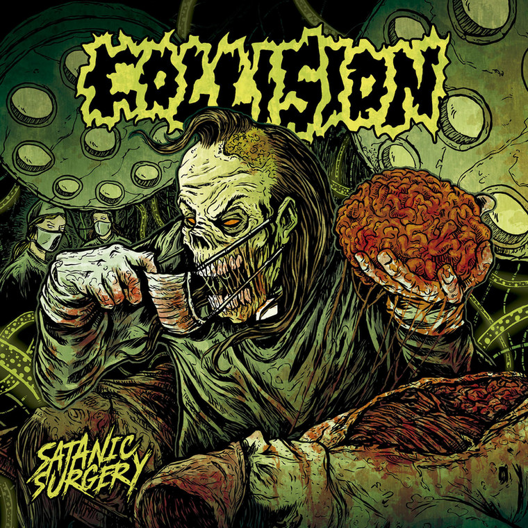 "COLLISION - ""Satanic Surgery"""
