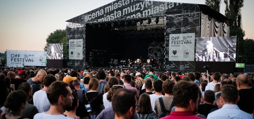 OFF Festival w Katowicach przełożony na 2022 rok. Zamiast niego odbędzie się OFF Country Club