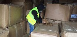 Kryminalni znaleźli tony tytoniu