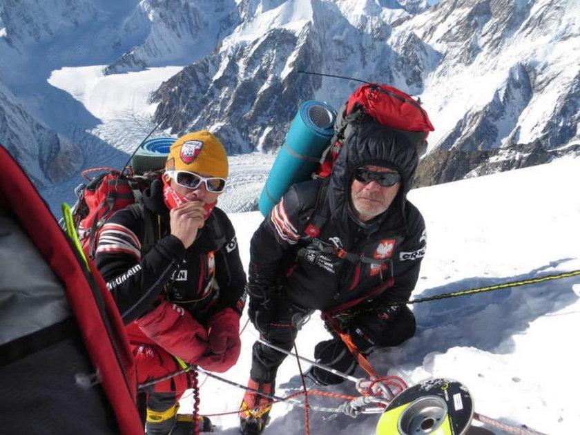 Alpiniści na Broad Peak
