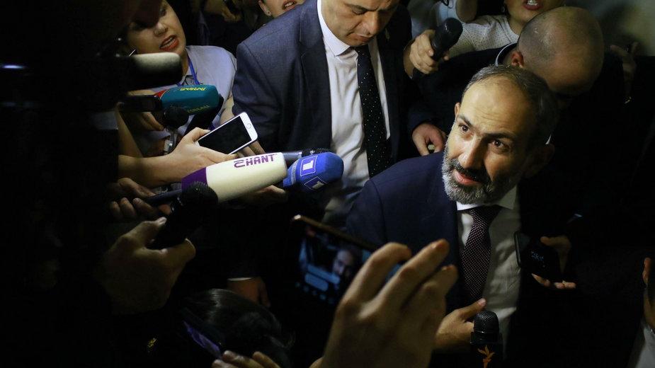 Premier Armenii Nikol Paszynian