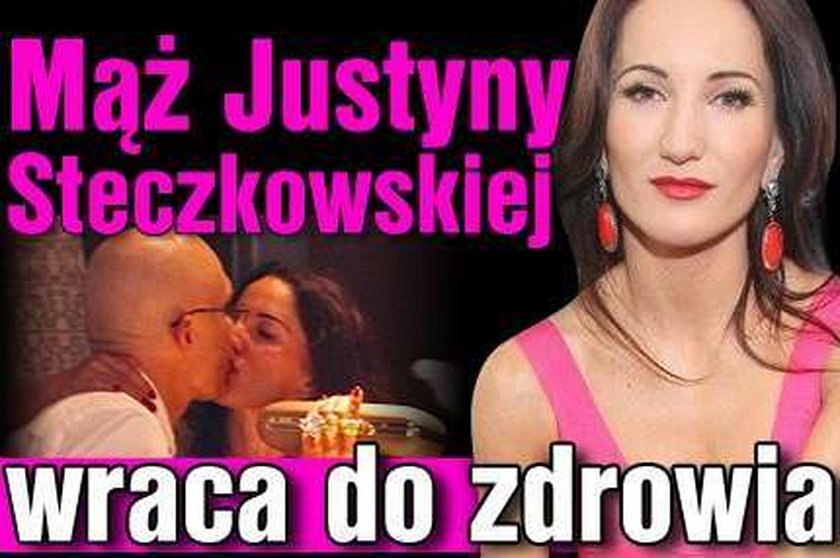 Mąż Steczkowskiej wraca do zdrowia