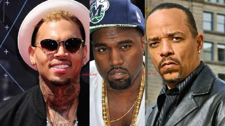 Chris Brown, Kanye West, Ice T