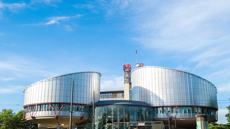 Europejski Trybunał Praw Człowieka w Strasburgu.