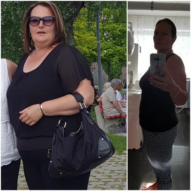 Kilogrami su brzo nestajali i to je Željku motivisalo da nastavi dalje: jun 2019. i septembar 2020. godine