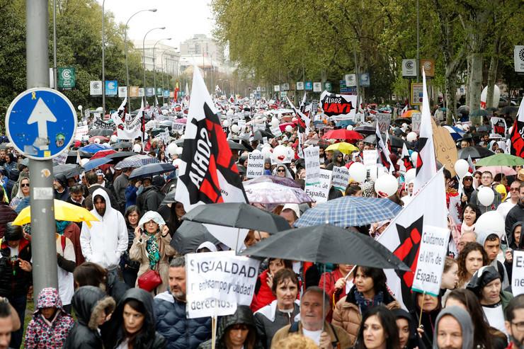 Protest Madrid Španija EPA CHEMA MOYA