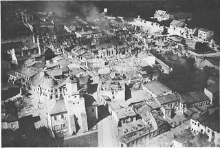Niemcy zrzucili na to miasto 380 bomb. Zniszczony Wieluń w Muzeum II Wojny Światowej
