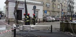 Demolka niedaleko Sejmu. Co się stało?