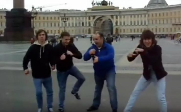 Hard bas, Rusija