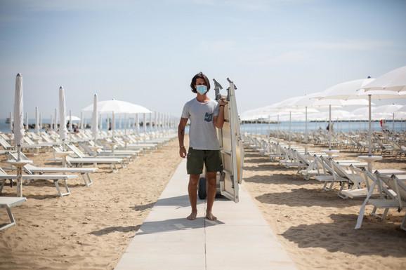 PRVA BELA ZONA U ITALIJI Sardinija klasifikovana kao bezbedna, ukida se većina mera