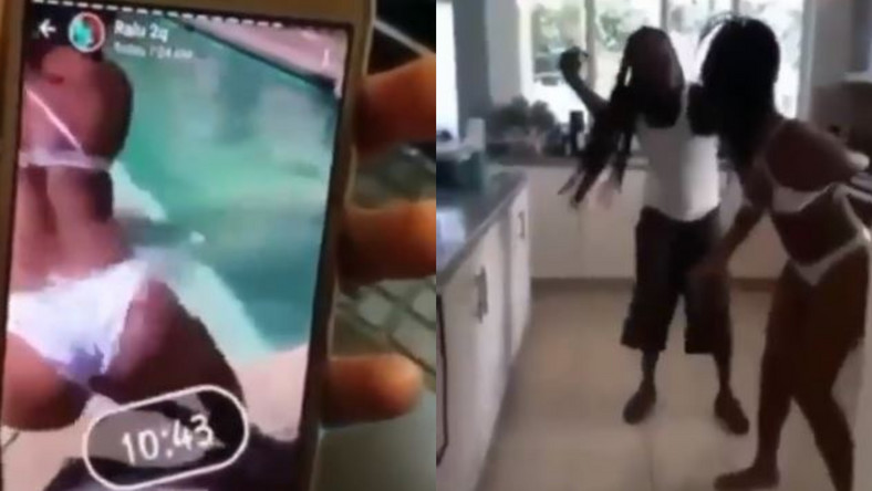 Video: Angry father beats up daughter for posting twerking video on WhatsApp