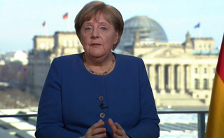 Angela Merkel podda się domowej kwarantannie