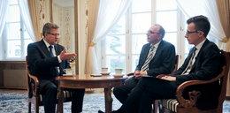 Prezydent Komorowski specjalnie dla Faktu
