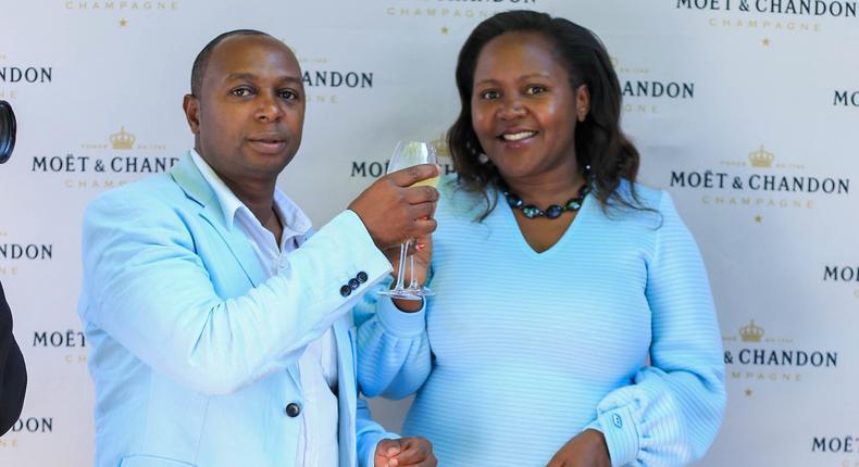 Simon Kabu and Sarah Kabu