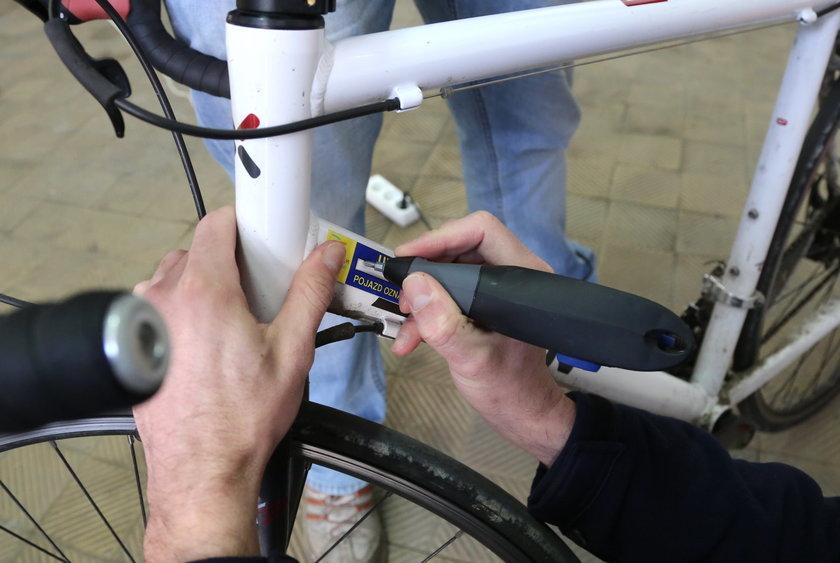 Nie daj się złodziejom, oznakuj rower!