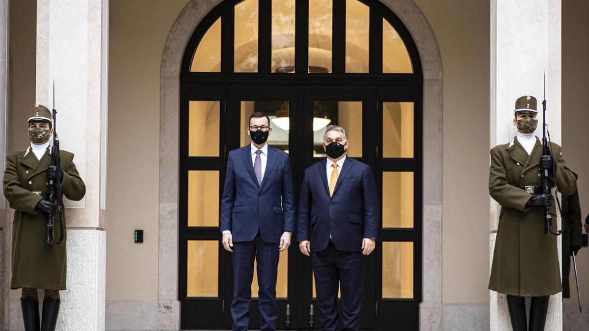 Orbán Viktor és Mateusz Morawieczki közös bejelentése - Blikk