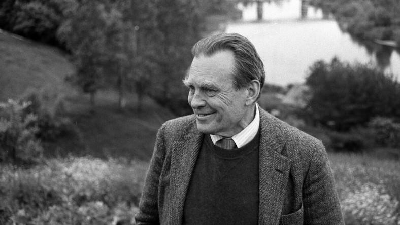 Rok 1981 Czesław Miłosz I Zbigniew Herbert Przyjeżdżają Do