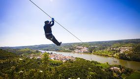 """Granicę hiszpańsko-portugalską można przekroczyć... kolejką tyrolską """"Limitezero"""""""
