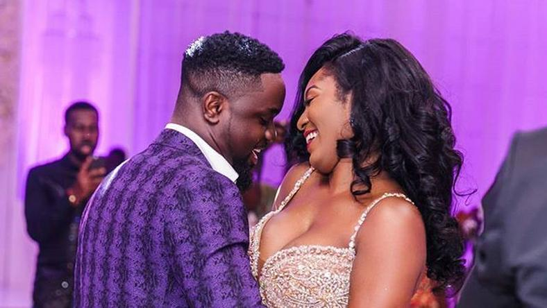 Congratulations to Sarkodie and Tracy on their wedding.