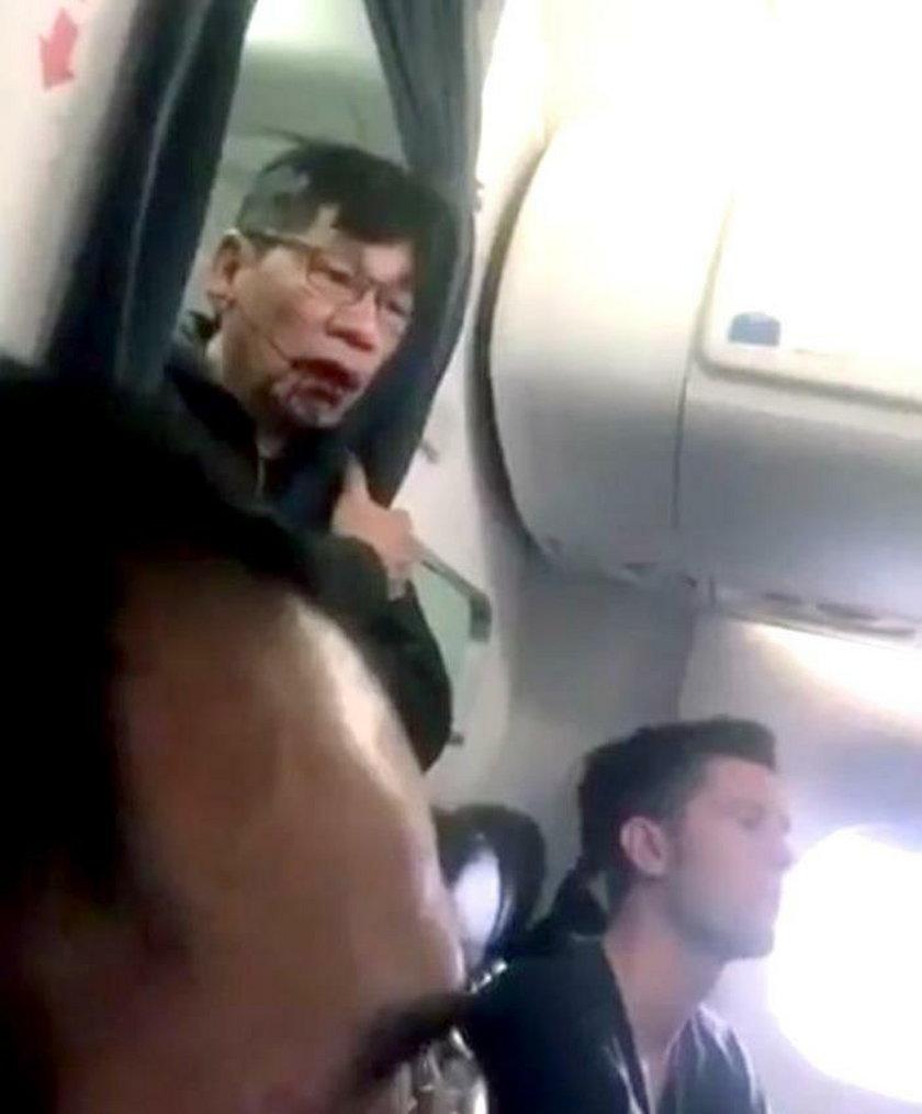 Awantura na pokładzie United Airlines