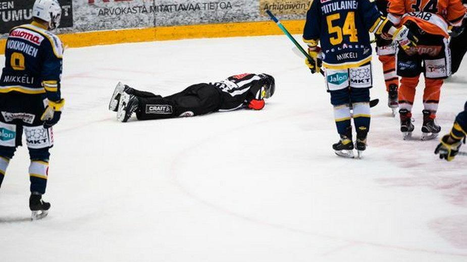 Sędzia Jukka-Pekka Koistinen