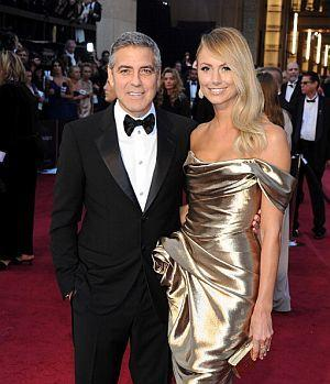 George Clooney i Stacey Keibler