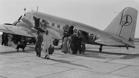 Douglas DC-2 w barwach PLL LOT