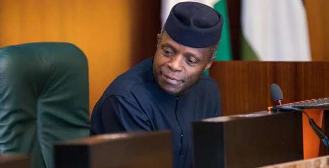 Vice President Yemi Osinbajo ordered the immediate overhaul of SARS on August 14, 2018