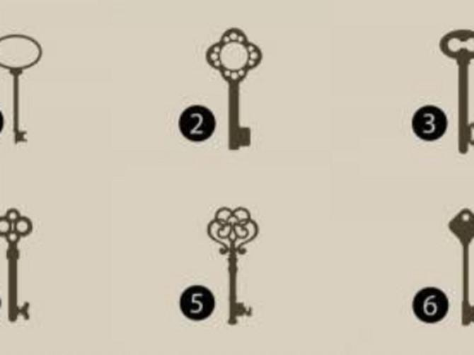 Test koji će vas POTPUNO OGOLITI: Izaberite ključ koji vam se najviše dopada i otkrijte svoju PRAVU PRIRODU