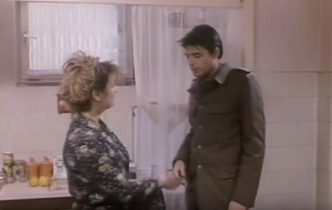 """Danicva Maksimović i Igor Pervić u filmu """"Noć u kući moje majke"""""""