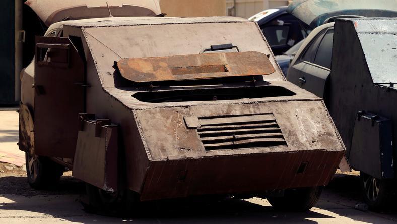Sprzęt został przechwycony przez irackie wojsko